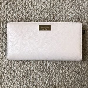 NWOT Tags Cream Kate Spade Jackson Street Wallet